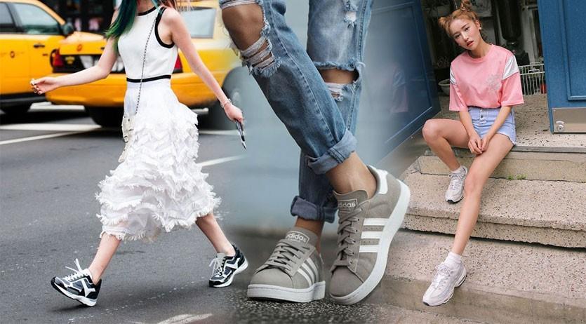 แฟชั่นรองเท้าสปอร์ต ใส่ไปไหนก็รอด